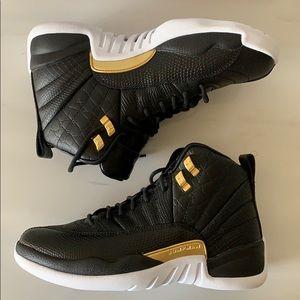 Nike Air Jordan 12 Retro Midnight Black Reptile